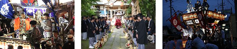 画像:真壁祇園祭