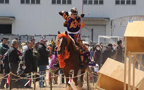 画像:大和流鏑馬(まほろばやぶさめ)競技大会