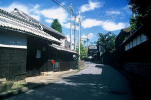 画像:街並み・桜井(大森家)