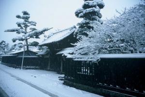 『街並み・雪』の画像