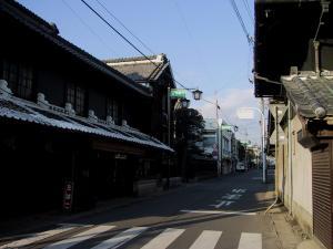 画像:御陣屋前通り・潮田家
