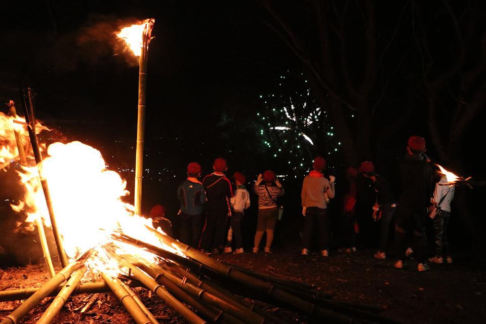 『かったて祭り花火』の画像