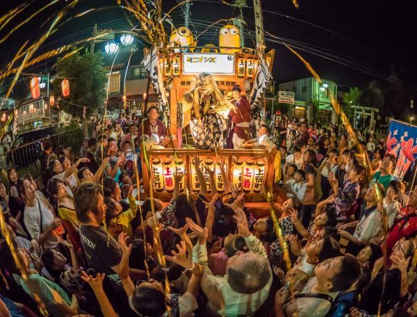 『夏祭りフォトコンテスト2017最優秀 真壁祇園祭20170726』の画像