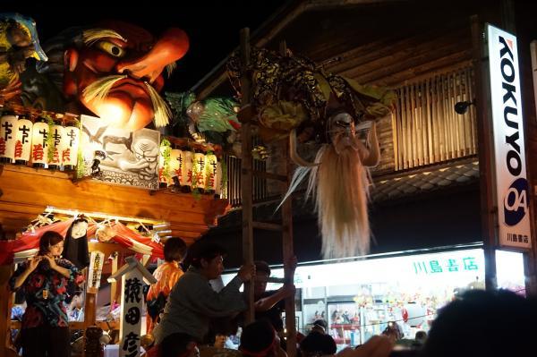 『夏祭りフォトコンテスト2017優秀 真壁祇園祭20170726川島書店前』の画像