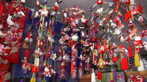 『石田金物店 つるし雛』の画像