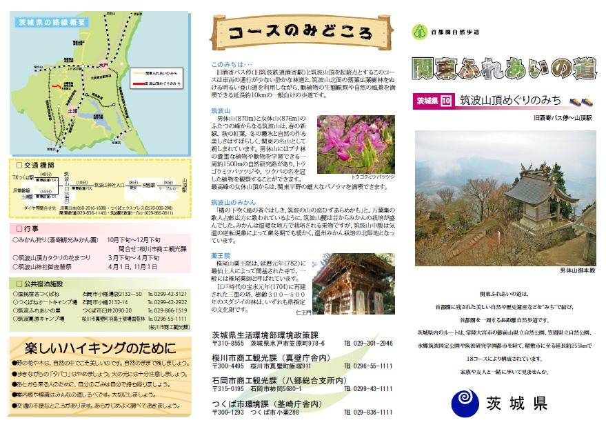 『筑波山頂めぐりのみち』の画像