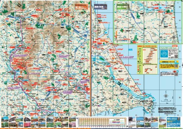 『つくば霞ヶ浦りんりんロードマップ【筑波山周辺エリア】』の画像