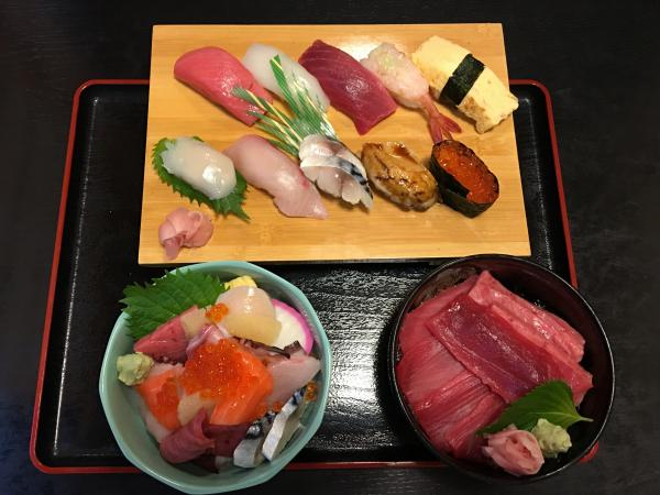 『吉原寿司セットメニュー』の画像