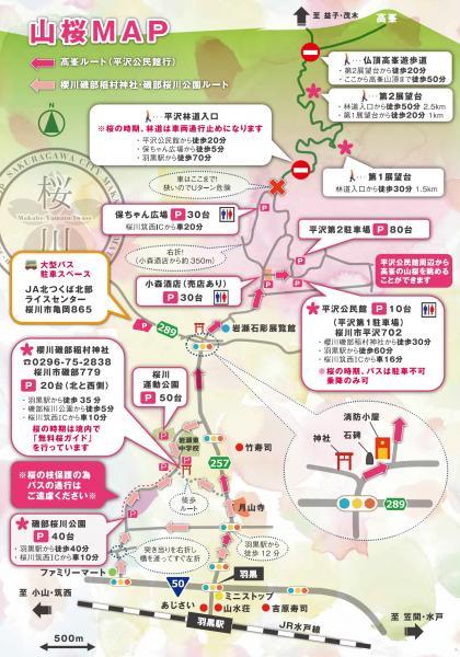 『山桜マップ』の画像