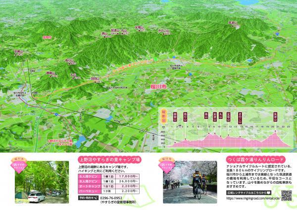 『ハイキングマップ【鳥瞰図・縦断図】(R3)』の画像