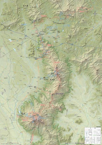 『ハイキングマップ【全体図】(R3)』の画像